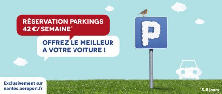 parking aeroport nantes